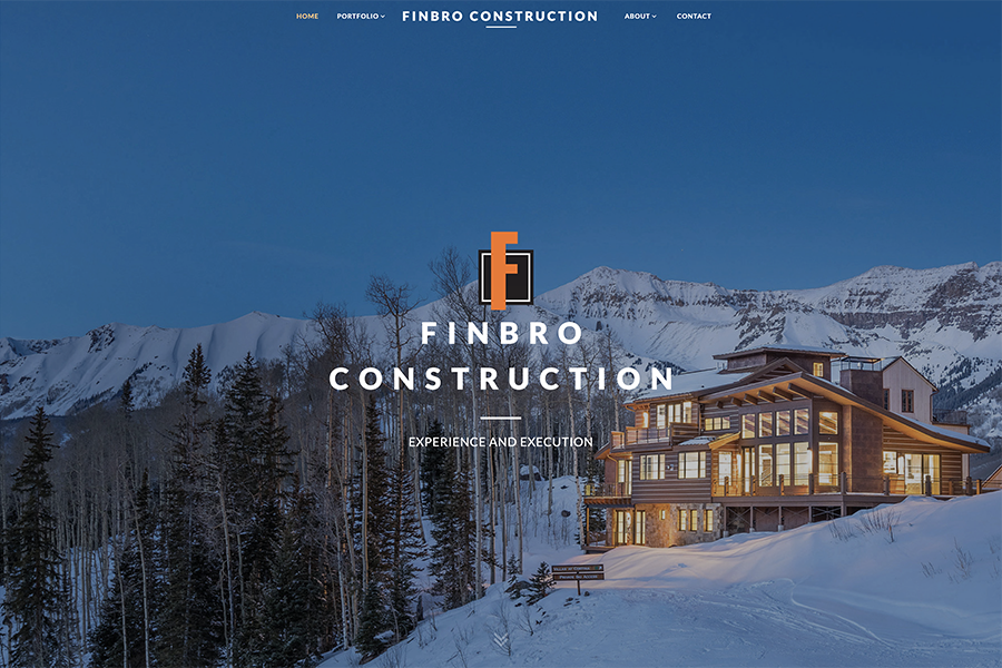 Finbro Construction Launches New Website